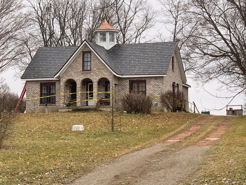 A recent homicide investigation led authorities to Mark Latunski's home on Tyrrell Road in rural Shiawassee County.