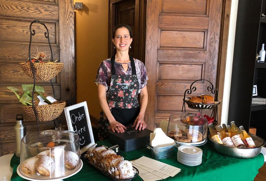 Erin Meadows, founder of Abundance Café, is hosting another pop-up this weekend at Old Town Marquee.
