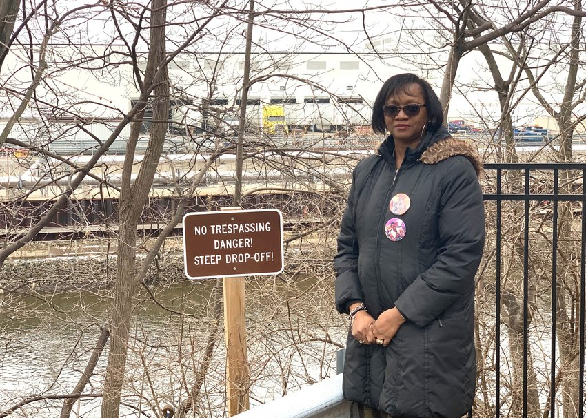"""Shirley Mitchner still visits the site where her son Brandon reportedly fell into the Grand River and drowned. She hopes """"Duty to Act"""" legislation will prevent others from meeting a similar fate."""