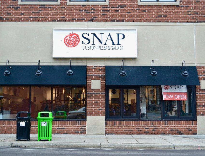 Snap Custom Pizza in East Lansing.