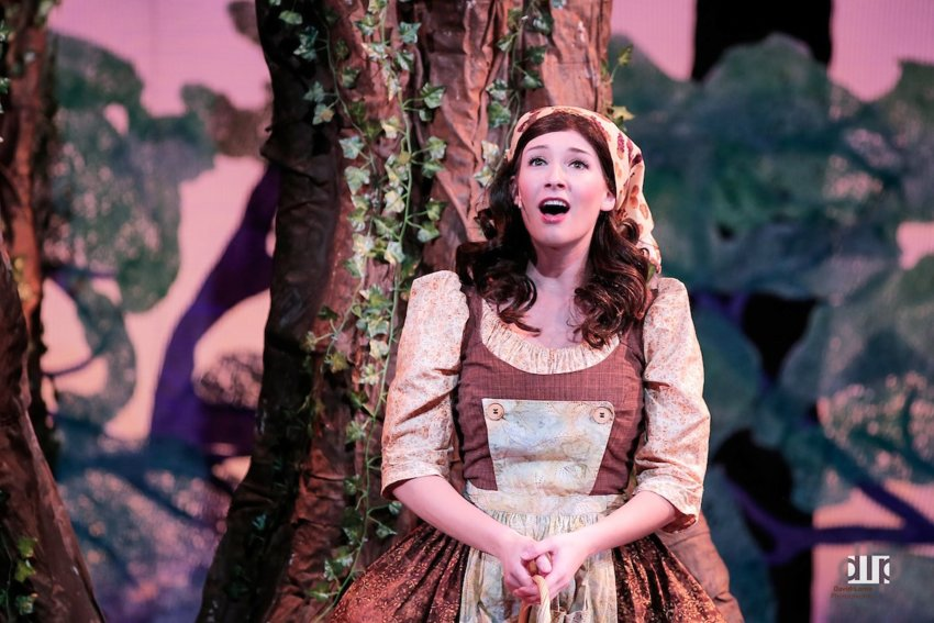 "Claire Ladaga in the Lebowsky Center for the Performing Arts' production of ""Cinderella."""