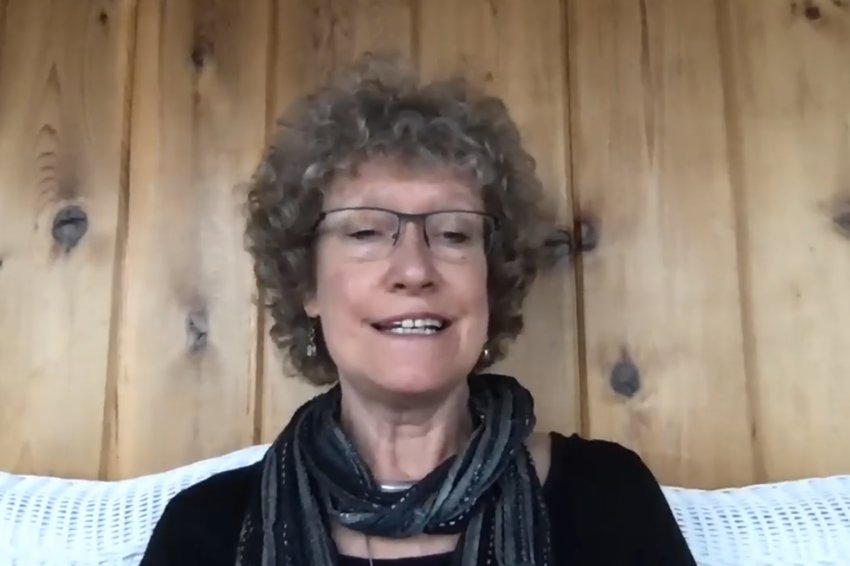 "Lansing Poet Laureate Laura Apol reads a poem to kick off her ""Poetry in Place"" series on her FaceBook page. In lieu of cancelled National Poetry Month events, Apol is asking area poets to contribute their verses to an online community anthology."