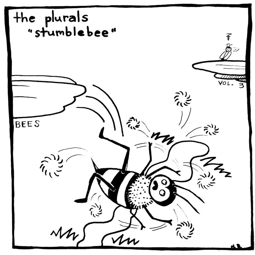"The Plurals' ""Stumblebee"" EP."