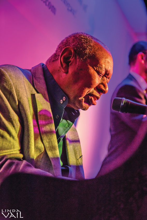 Singer-pianist Freddy Cole, who died Saturday, performing in East Lansing in 2018,