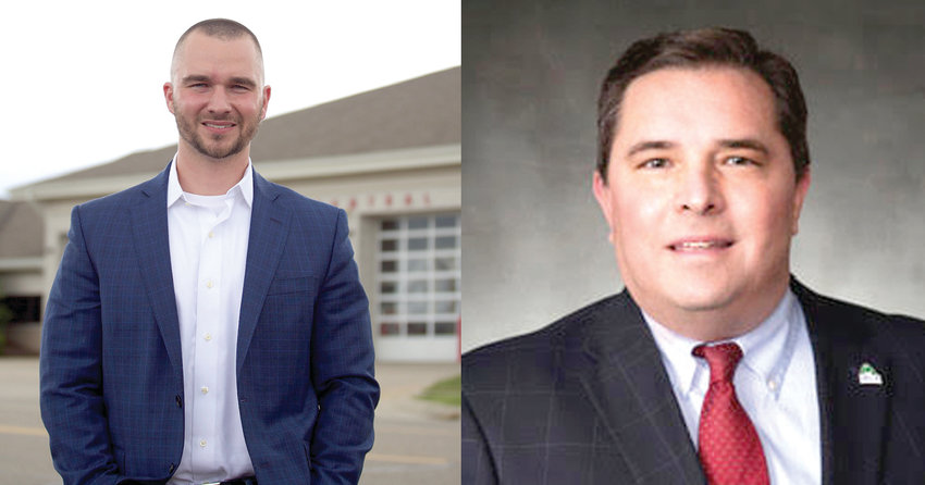 Incumbent Delta Township Supervisor Ken Fletcher (right), a Democrat, is facing Democratic challenger Joshua Lyman for a four-year term. With no Republican challenger filed in the General Election in November, the winner in next month's Primary Election takes the seat.