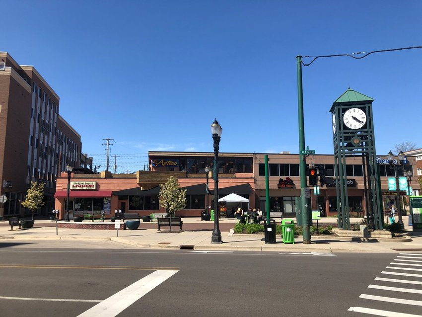 The city of East Lansing has reopened Albert Street after experimenting with making it an outdoor dining area.