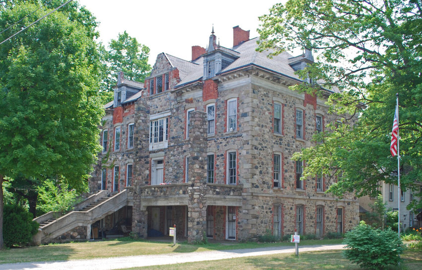 The historic Fenton Seminary in 2011, four years before demolition.