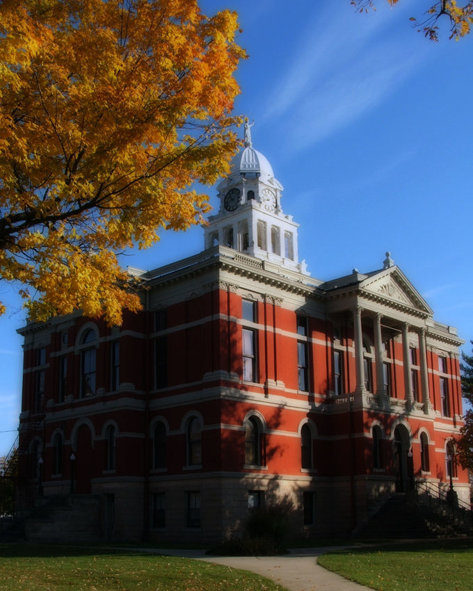 The Eaton County Courthouse in Charlotte is part of a district the federal government has added to the National Registry of Historic Places.