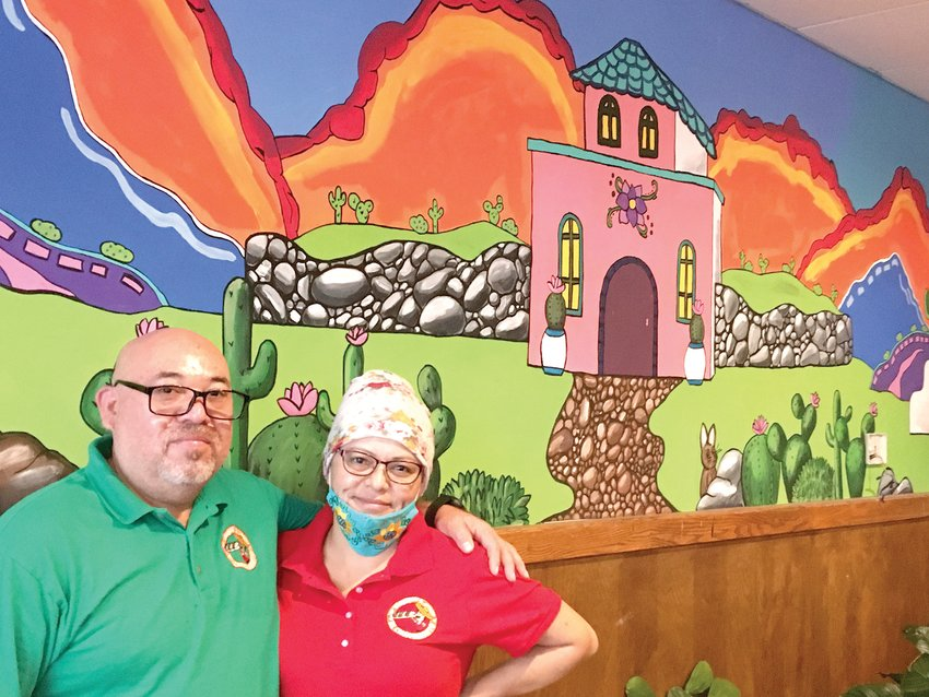 Taqueria El Chaparrito owners Lourdes Casillas and Saul Martinez at the restaurant's new location at 4832 W. Saginaw Highway.