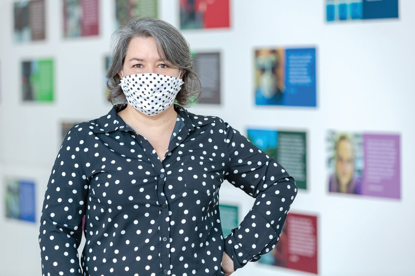 Monica Ramirez-Montagut, the new director of MSU's Broad Art Museum, will be more visible at the museum after weeks of quarantine.