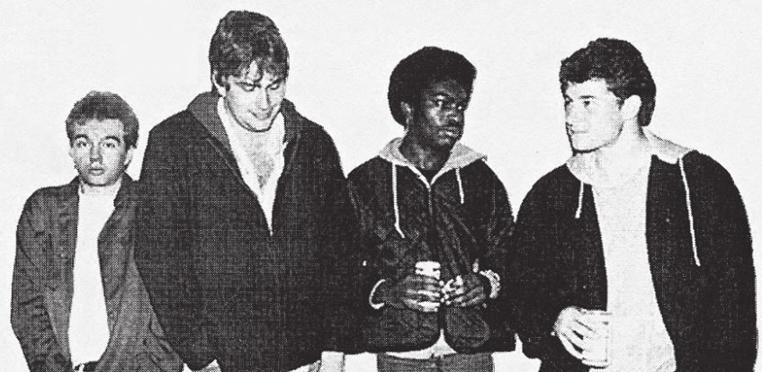 The Fix lead vocalist Steve Miller (far left), shown here in an early '80s promo, works today as a journalist and author.
