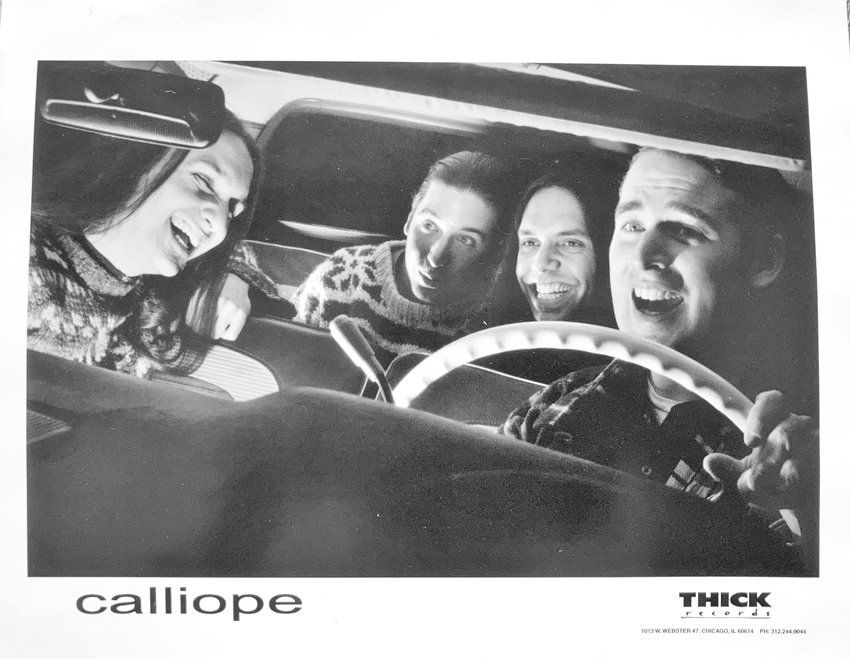"""Lansing-based band Calliope is featured on Third Man Records' new shoegaze, dream pop and space rock collection, """"Southeast of Saturn."""""""