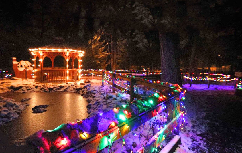 Wonderland of Lights is Potter Park Zoo's annual holiday event.