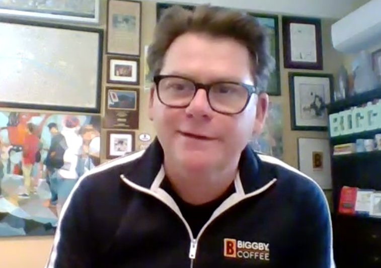 Biggby cofounder and co-CEO Bob Fish chatted with City Pulse via Zoom.