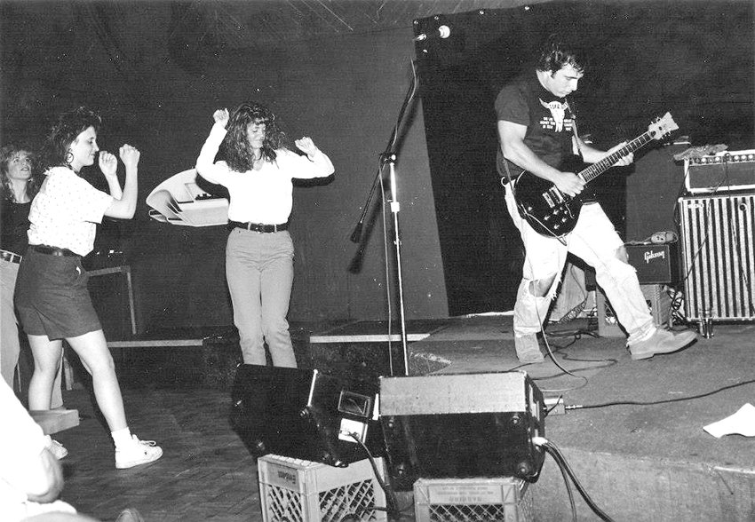 The Beatosonics at The Small Planet, Fall 1992.