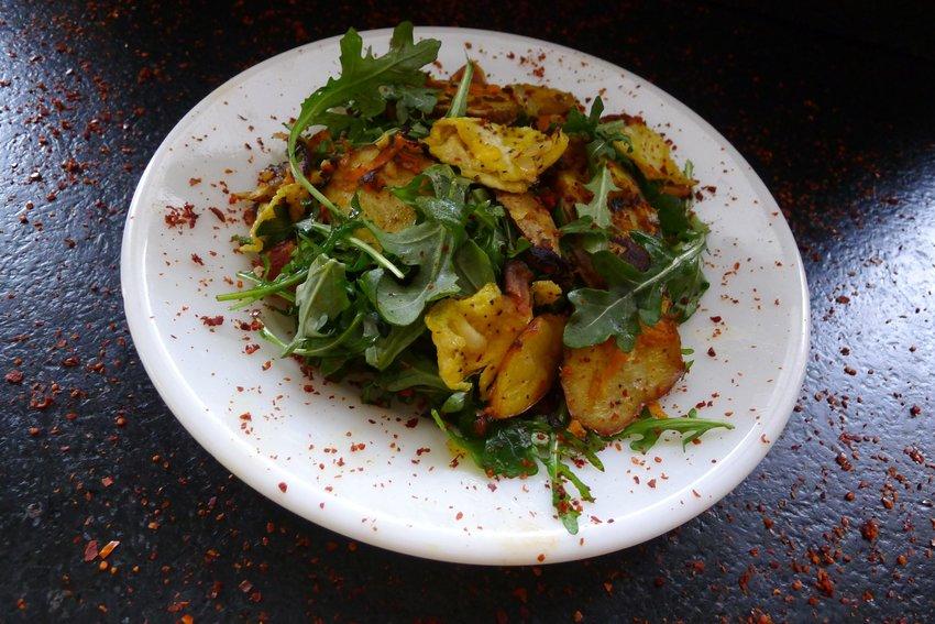 Arugula is delicious when prepared with pasta.