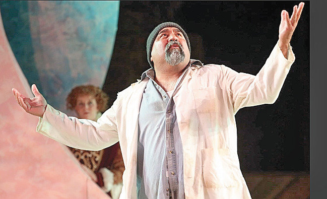 "Tommy Gomez in a 2019 Santa Cruz Shakespeare production of ""A Winter's Tale."""