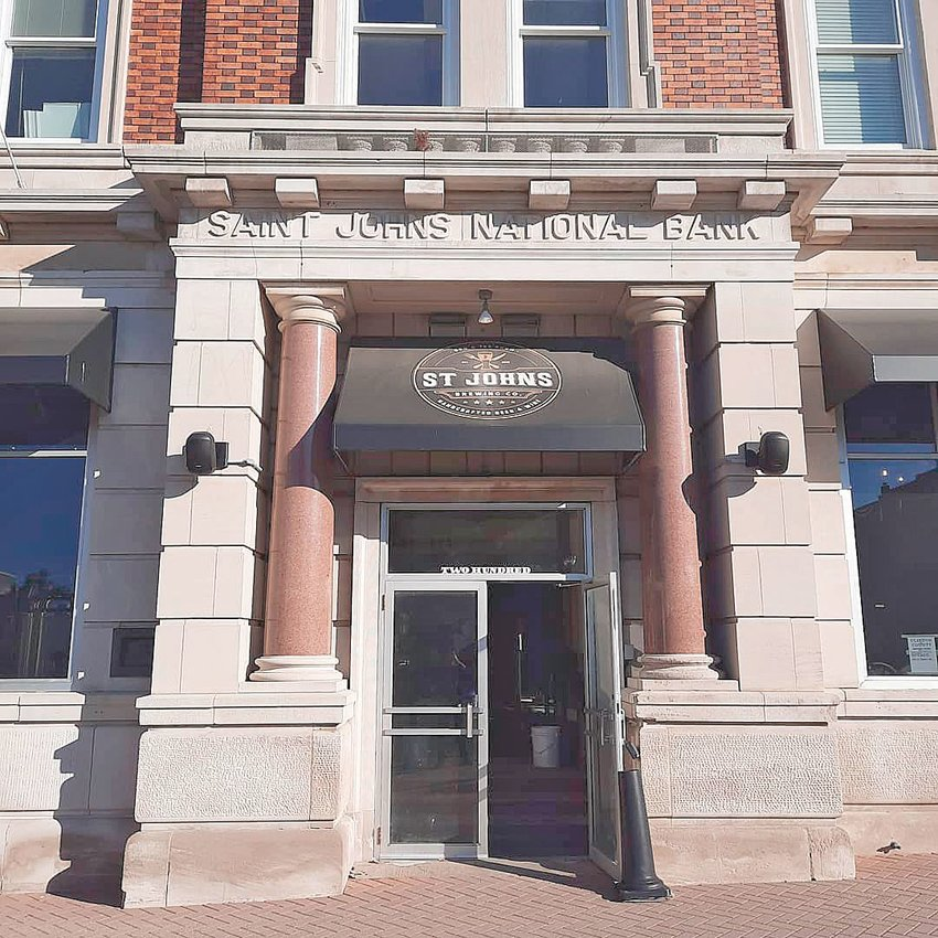 St. John's Brewing is housed in a bank.