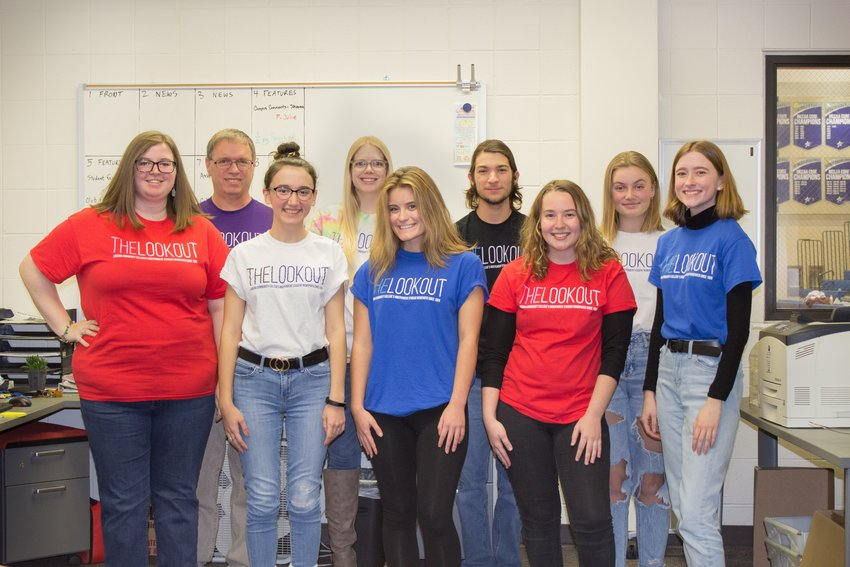 The Lookout's 2019-2020 staff took home the top Division 3 of the 2020 Michigan Press Association's Better Newspaper Contest.