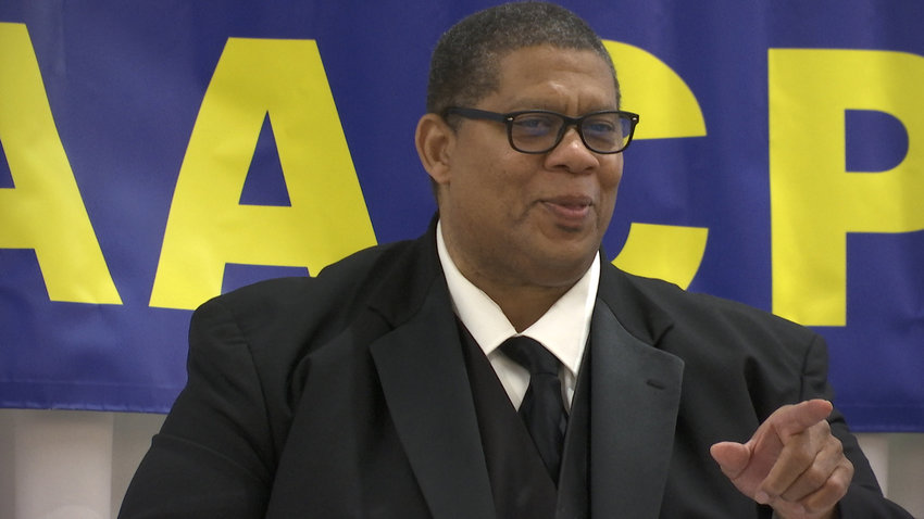 Longtime local NAACP leader Dale Copedge is under fire from a faction of its membership.