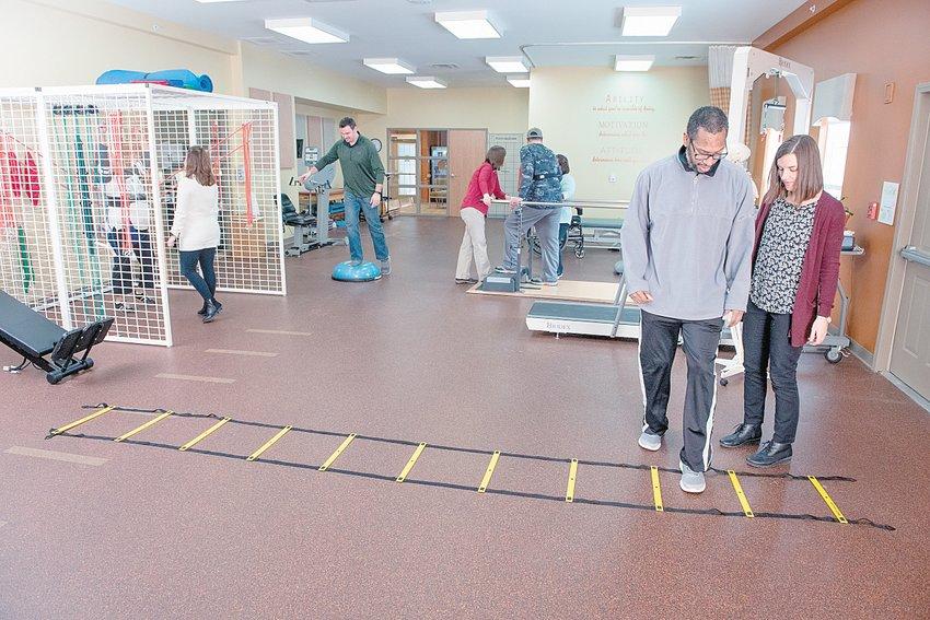 Patients receiving treatment at Origami Rehabilitation.