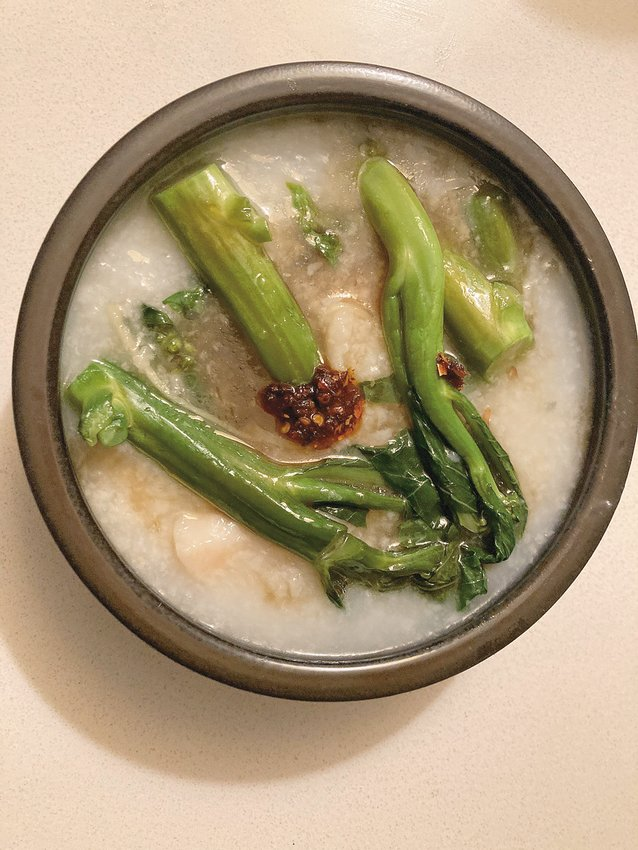 Chicken Congee.