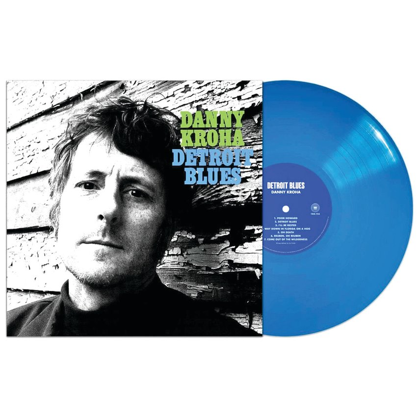 """Danny Kroha of The Gories has a new solo LP, """"Detroit Blues,"""" on Third Man Records."""