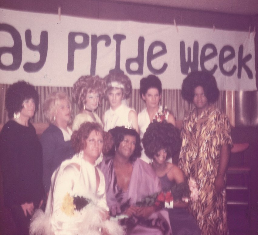 The Miss Capitol City pageant at Covello's, June 22, 1972.
