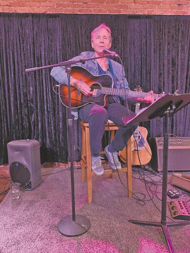 Dave Mingus performing at UrbanBeat on June 5.