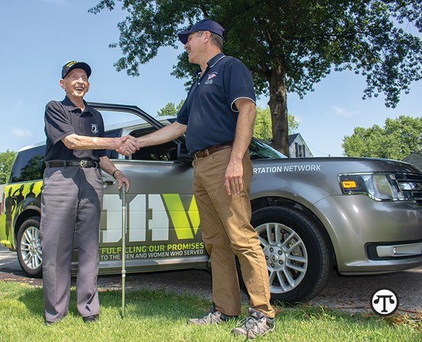 Helping a veteran get to needed medical care can be a great way to give back.