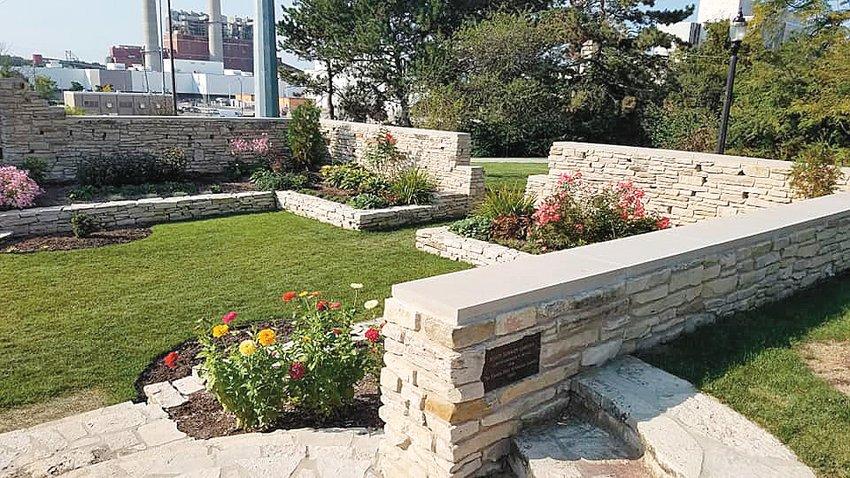 Scott Sunken Gardens in REO Town.
