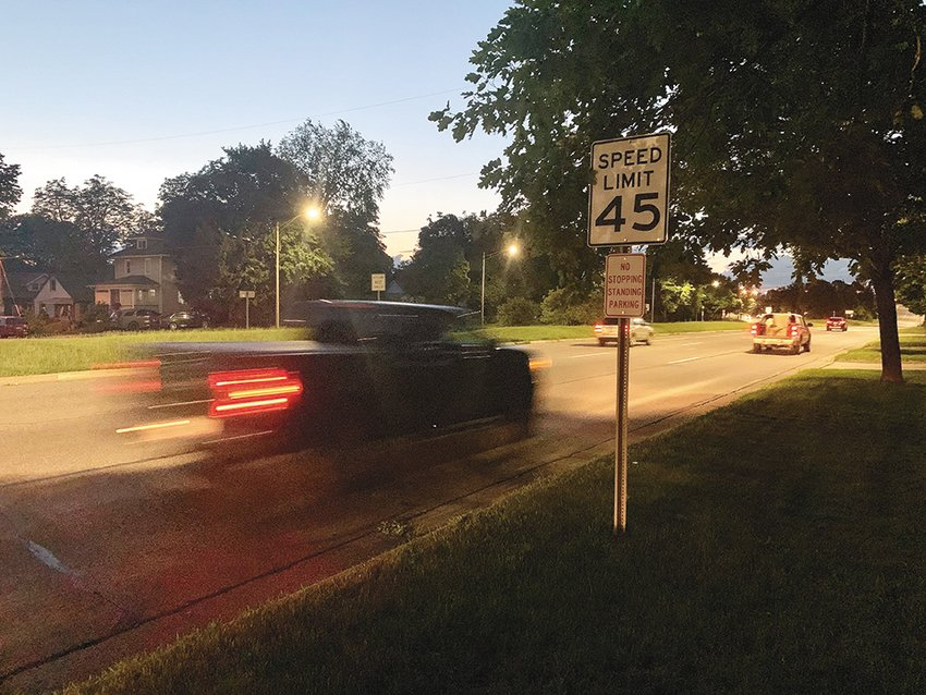 Many neighborhood complaints involving speeding and reckless driving are centered on a 45 mph stretch of Martin Luther King Jr. Boulevard near Moores River Drive and Mount Hope Avenue.