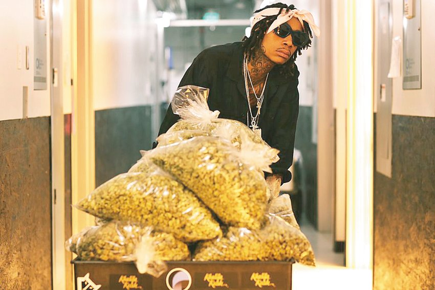 """Wiz Khalifa is a Grammy-Award-winning rapper, singer and songwriter. His cannabis line """"Khalifa Kush"""" will be available in Michigan exclusively at Gage Cannabis Co. later this year."""