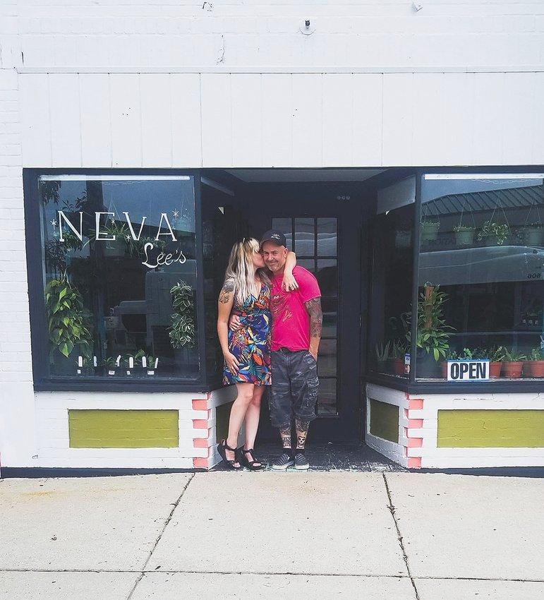 Faun Donald and her partner, Luke Trusnovec, co-owners of Neva Lee's.