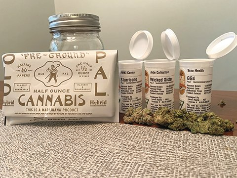 Marijuana from Local Roots provisioning center.