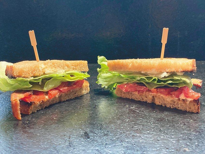 A fresh BLT sandwich prepared by Ari LeVaux.