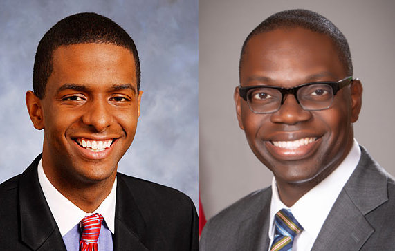 Author and political commentator Bakari Sellers (left) and Lt. Gov. Garlin Gilchrist headline a special televised Lansing NAACP event Saturday at 8 p.m. on WLNS-TV 6.