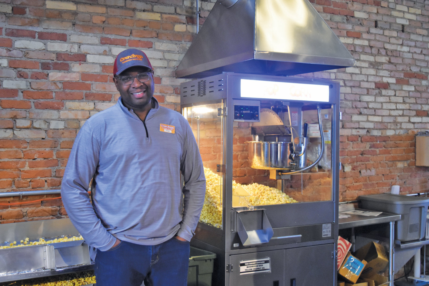 Owner Chad Jordan has been in Old Town making popcorn since 2007.
