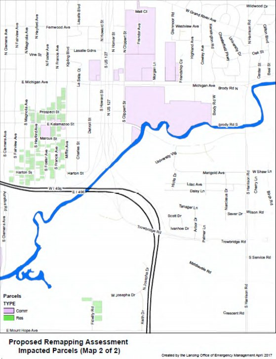 Updated mapping for the Red Cedar River floodplain could allow some local homeowners to avoid rising flood insurance rates.