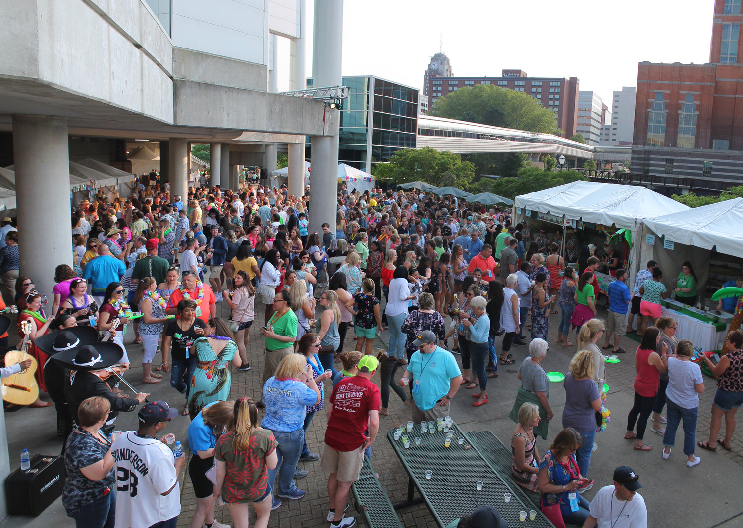 This year's fest brought in 900 attendees eager to try some of the most unique drink mixes Lansing has to offer.
