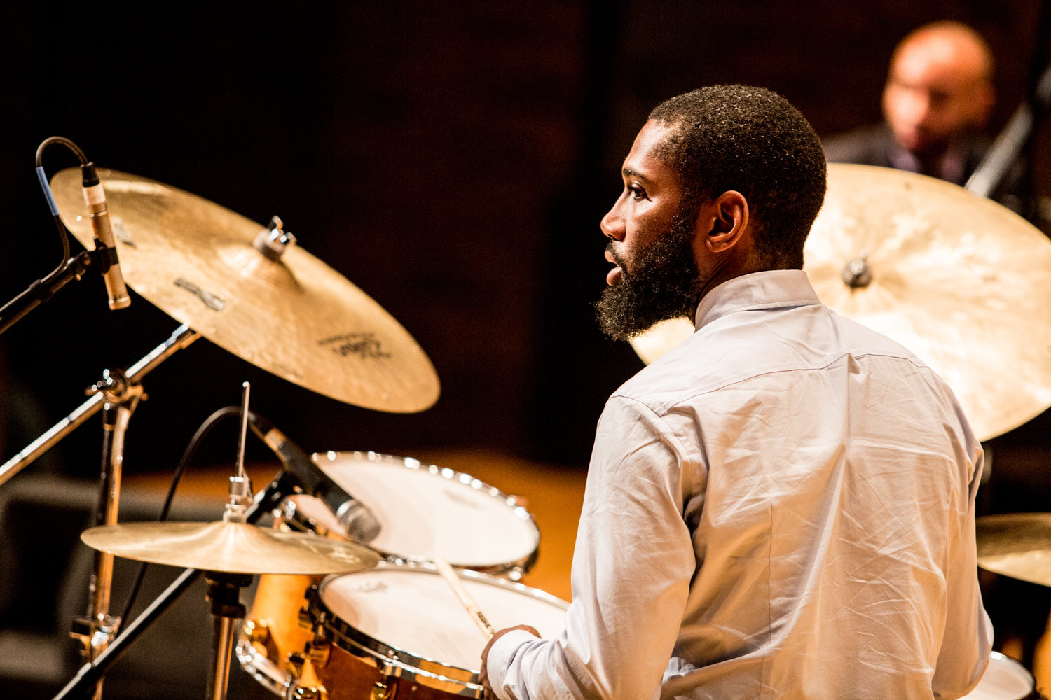New York jazz musician Lawrence 'Lo' Leathers got his start in Lansing.