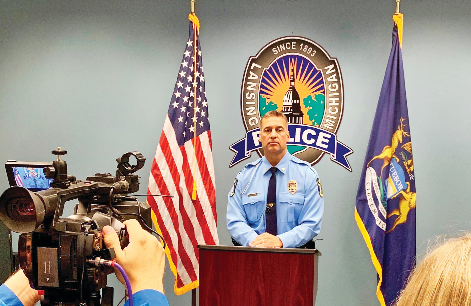 "Police Chief Michael Yankowski, at Friday's press conference, said officers used ""training tactics"" during a ""successful arrest."" The next day, he shunned the behavior and placed two officers on leave."