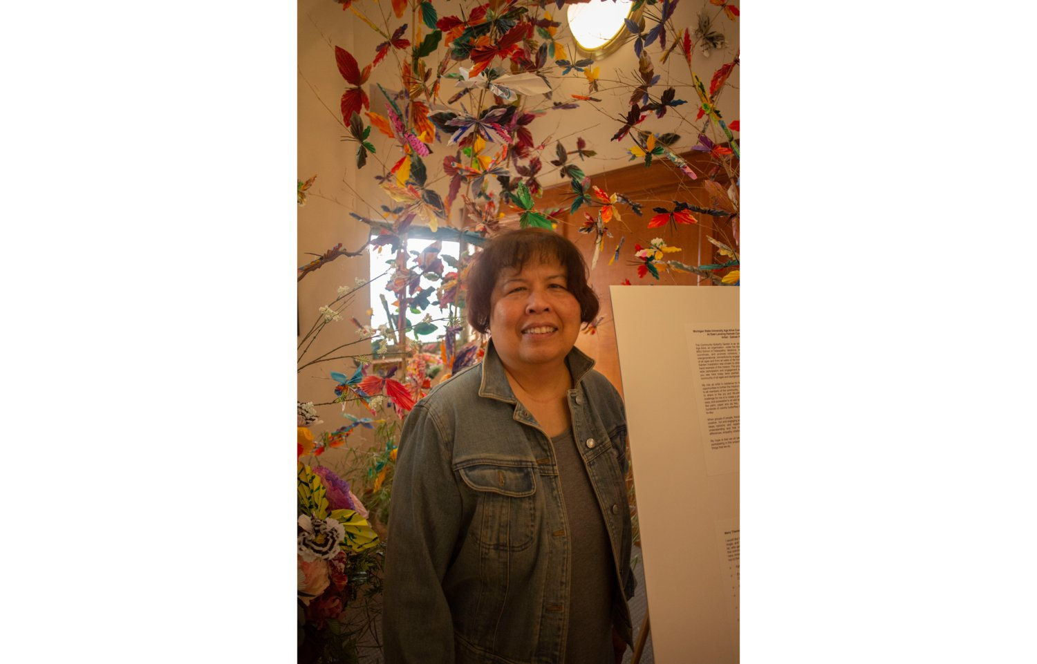 Zahrah Resh is a cancer survivor and artist who got recognized for her paper art after making 6,500 butterflies with cancer patients in Grand Rapids.
