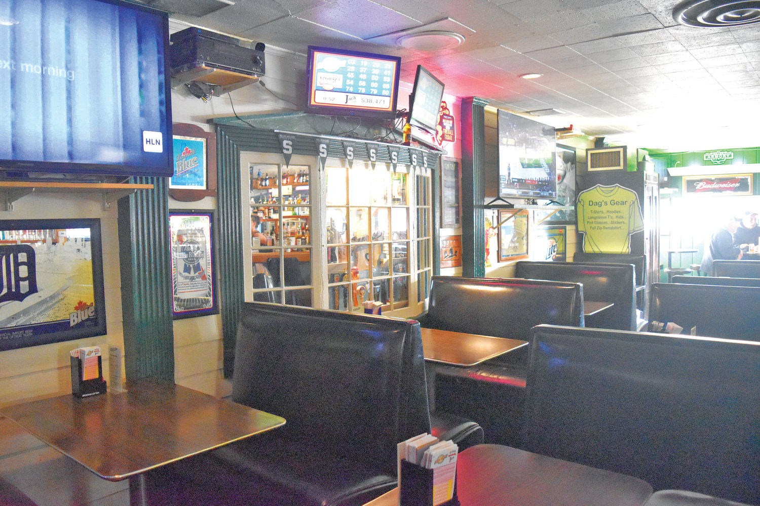"Dagwood's was voted Lansing's ""Best Neighborhood Bar"" for it's cheap eats, booth seating and old school feel."