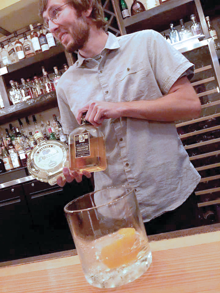 "Christian Gray, voted ""Best Bartender"" in our 2019 Top of the Town Contest. He's since moved to Chicago."