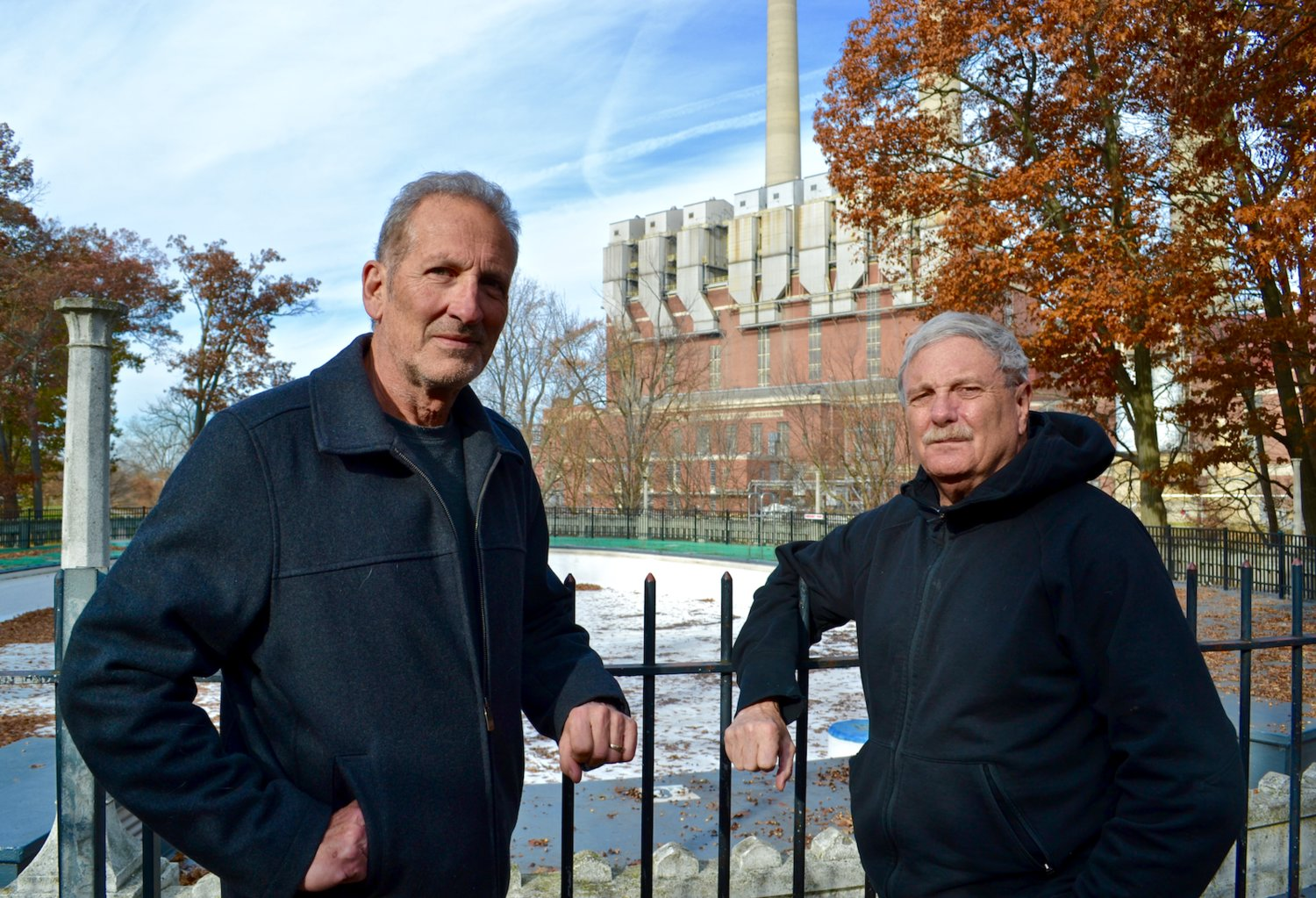 Dale Schrader (left) and Bill Castanier are considering a joint fundraising effort to help fund the fixes.