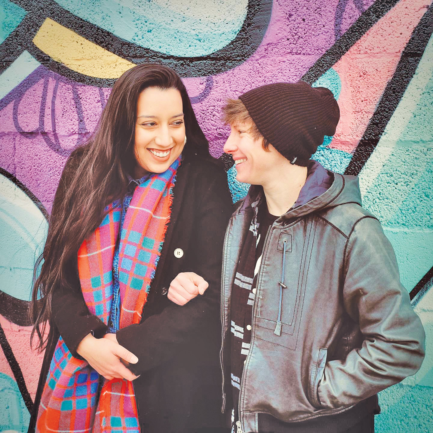Isabella Copeland and Kyle Holsinger-Johnson are the co-creators of Queers Who Brunch.