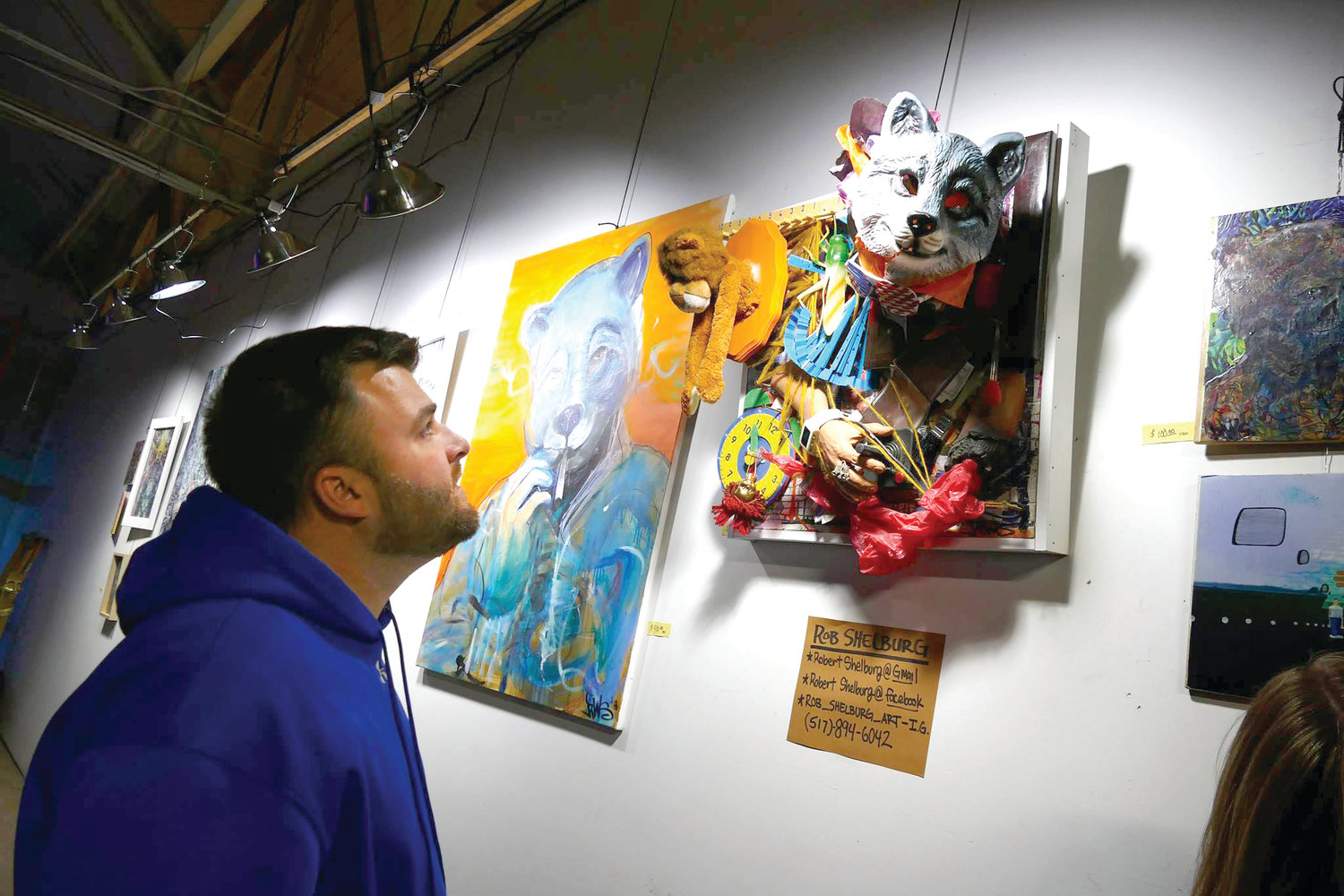 Attendees to the Art and Craft Beer Festival in REO Town can check out art while drinking craft beer and enjoying food from local eateries.