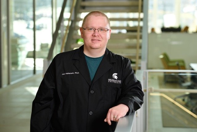 MSU researcher Joseph Patterson helped develop a test for the COVID-19 virus that is 50 times more sensitive than the conventional tests in wide use.