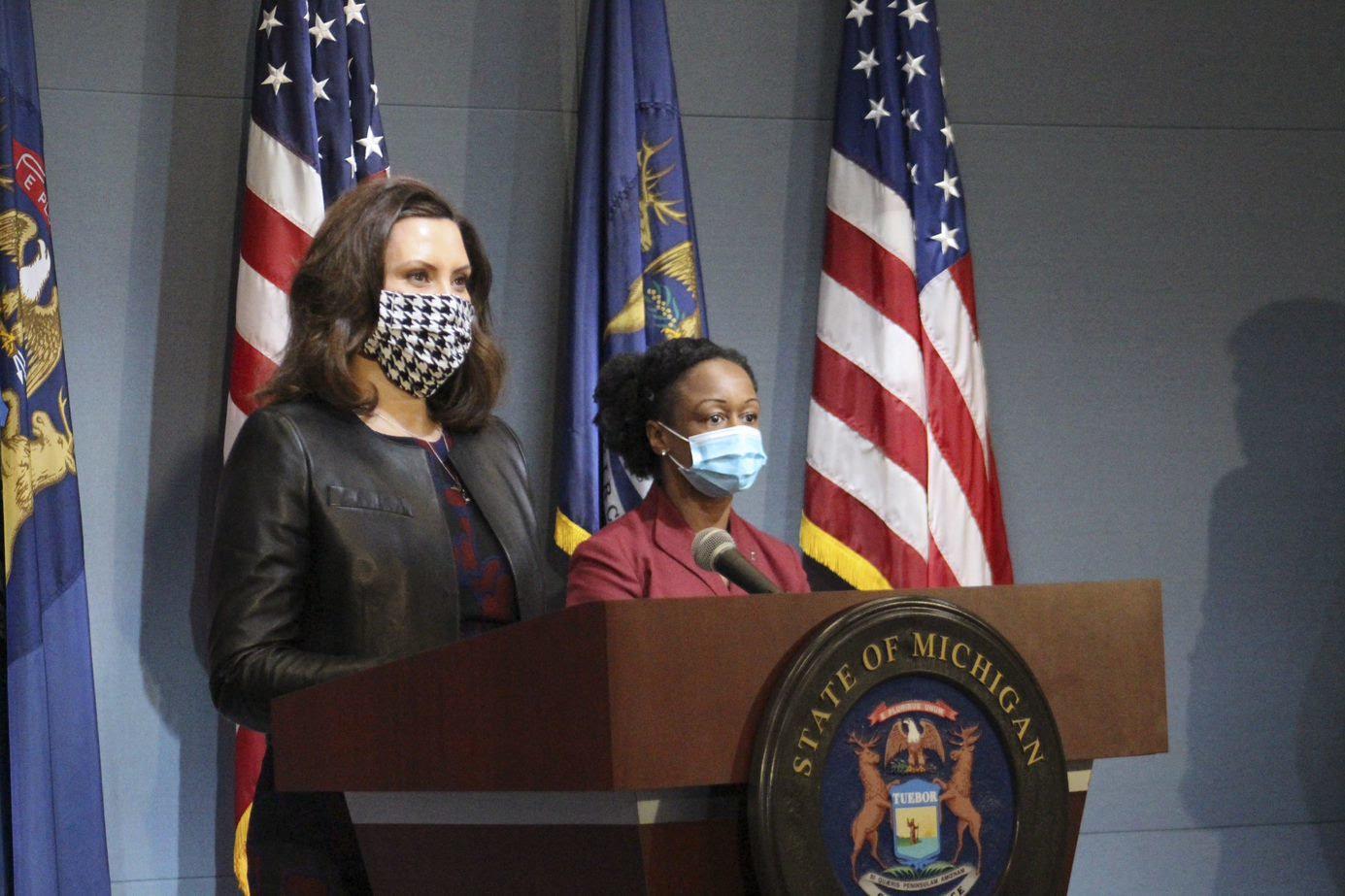 Whitmer Masks Mandated In Michigan Through May City Pulse